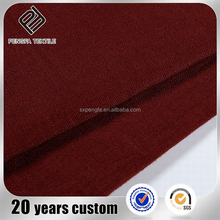 7219 alibaba china fashion Soft plain 100% linen cotton modal elastane fabrics clothing for sale