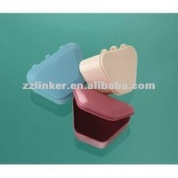 Denture box for False teeth Cleaning