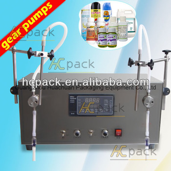 Double-heads Semi-automatic Oil filler