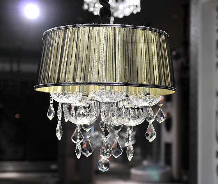 wholesale decorative modern crystal restaurant ceiling light