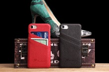 Mobile phone cover snake skin PU leather case for iphone 7 from China factory