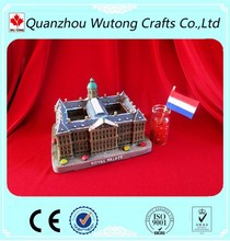 Custom World Famous Tourist Souvenirs of Polyresin Mini Landmark statue