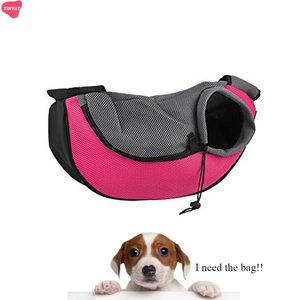 Custom Designer Small Dog Washable Cat Pet Carrier Bag Travel Pet Sling Bag