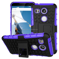Shockproof hybrid armor case for LG nexus 5 2015