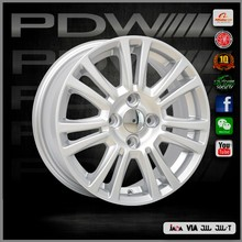 China aluminum wheel manufacturer since 1983, PDW brand wheel 18x9.5 wheels