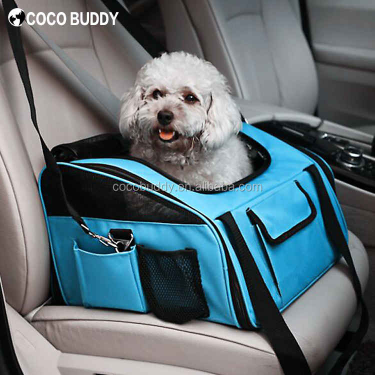 Pet Supplies Dog Car Booster Seat Carrier Travel/Dog Bags, OEM