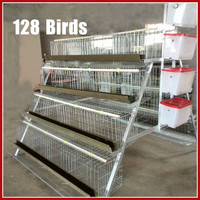 Large-Scale Automatic Poultry Farm Construction of Chicken Cage Design