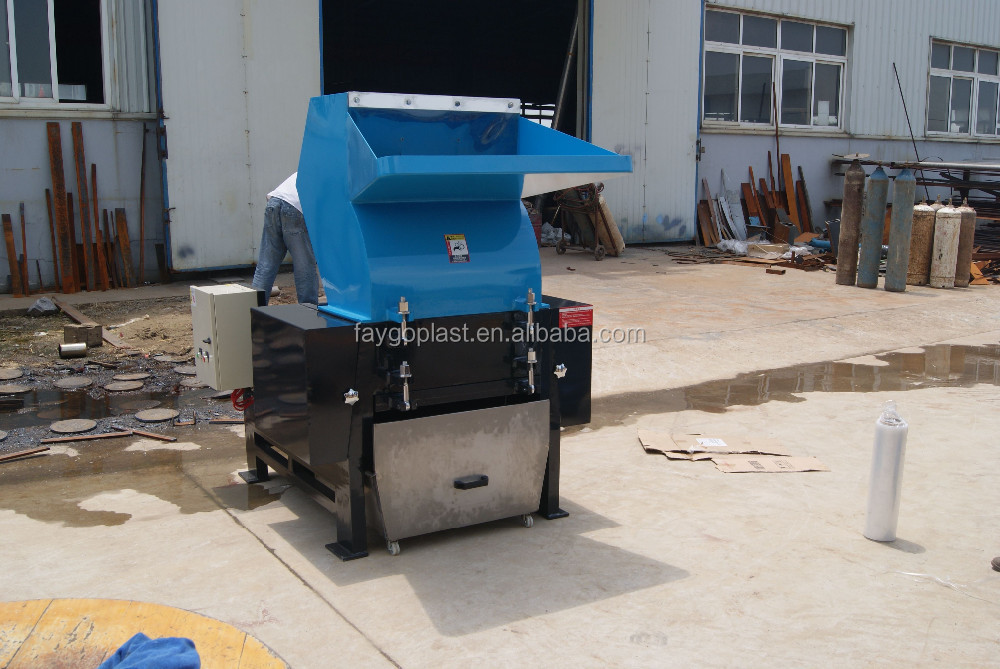 Hot sale PET bottle crushing machine