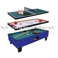 3 In 1 Air Hockey and Pool Table