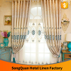 New design European Jacquard stereo embroidery decorative good quality window curtain