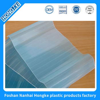 New product clear plastic roof tile