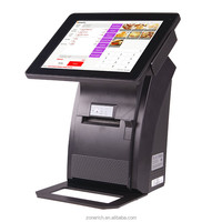 All in one POS computer with 80mm thermal printer ZQ-P1088 mini from Zonerich