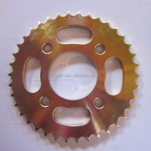India Bajaj High quality motorcycle sprocket and chain,motorcycle transmission kits