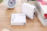 2012 best sale portable power bank 8200mah multi-function emergency battery charger with lithium polymer battery