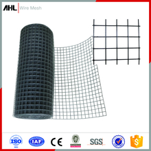 5x5 Welded Wire Mesh PVC Coated Black Welded Wire Fence Mesh Panel