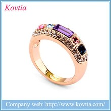 Popular gym spiritual gothic engagement rings 22k gold luxury engagement ring