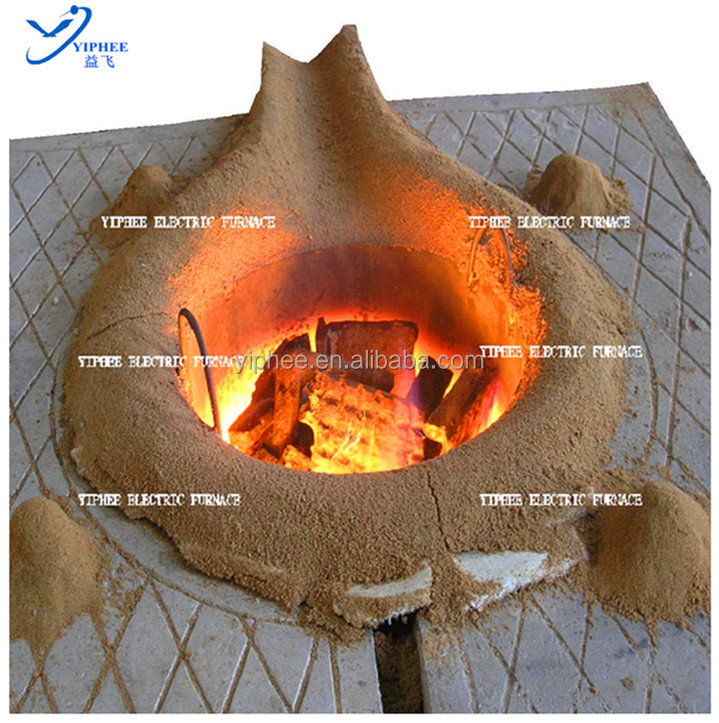 Top Quality Low Power Consumption Metal Induction Melting Furnace / Electric Furnace