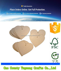 10x Wooden Heart Shapes Craft Blank, Card Making, Christmas, Wedding