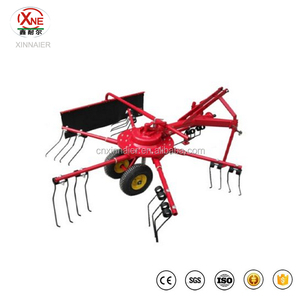 Tractor Rotary Mini Hay Rake Tedder for sale