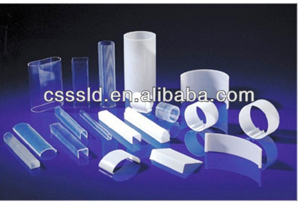 frosted satine polycarbonate extrusion