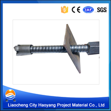 hollow chemical anchor bolt with advanced material in construction