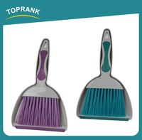 Wholesale High Quality Household Cleaning Short Handle Mini Plastic Broom And Dustpan Set For Table