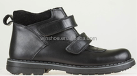 Children's boots for school with Genuine leather upper & lining TPR sole