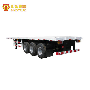 Good Quality China Sinotruk Howo New Container Semi Trailer Price