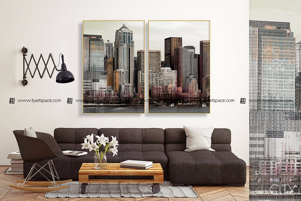 Home stagers recommend wall decor paintings acrylic art hall decoration items