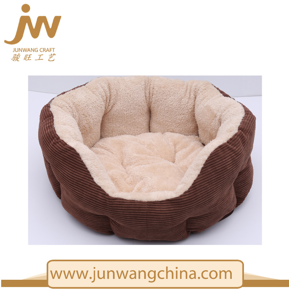 coffee Pet Cushion Winter Dog Bed Round Dog Bed