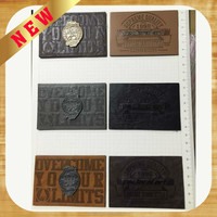 High quality and reasonable price custom leather label