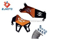 Motorcycle Brand New ZJMOTO Engine Case Protectors CNC Orange Aluminum Engine Guard Covers for Z800 2012 2013 2014
