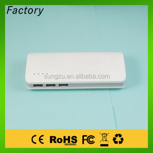 Power bank charger,15000mah Three usb ports power bank ,rechargeable power bank have been tested by power bank tester