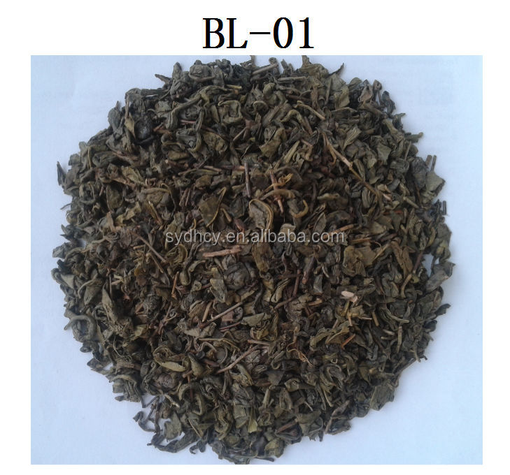 china gunpowder green tea BL-01 detox tea with high quality on hot sale