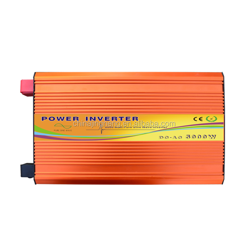 Off-Grid 5000W pure sine wave PV inverter solar converter dc to ac 12V 24V 48V 96V