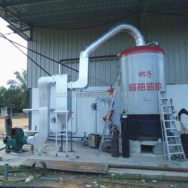 Industrial coconut shell Biomass coal Fired Thermal Oil Heater /Boilers for Hot Sale