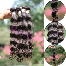 Grade AAAAA Guangzhou wholesale virgin real Cambodian hair extensions , body wave