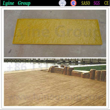 Polyurethane and silicone molds for production artificial stone veneer