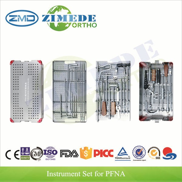 Orthopedic Proximal Femur nails kit PFNA instrument set