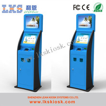 restaurant ticket machine with touch screen kiosk