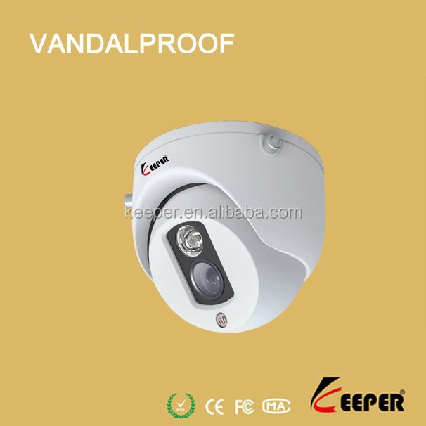 keeper brand 700tvl Excellent Day & Night Picture vandalproof dome cctv Camera