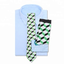Custom Brand Green Italian Silk <strong>Tie</strong> And Sock Set Gift Box