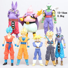 OEM make your own 8pcs resin flexible action figure for boys