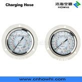 gauge, pressure gauge, for refrigeration and air conditioning