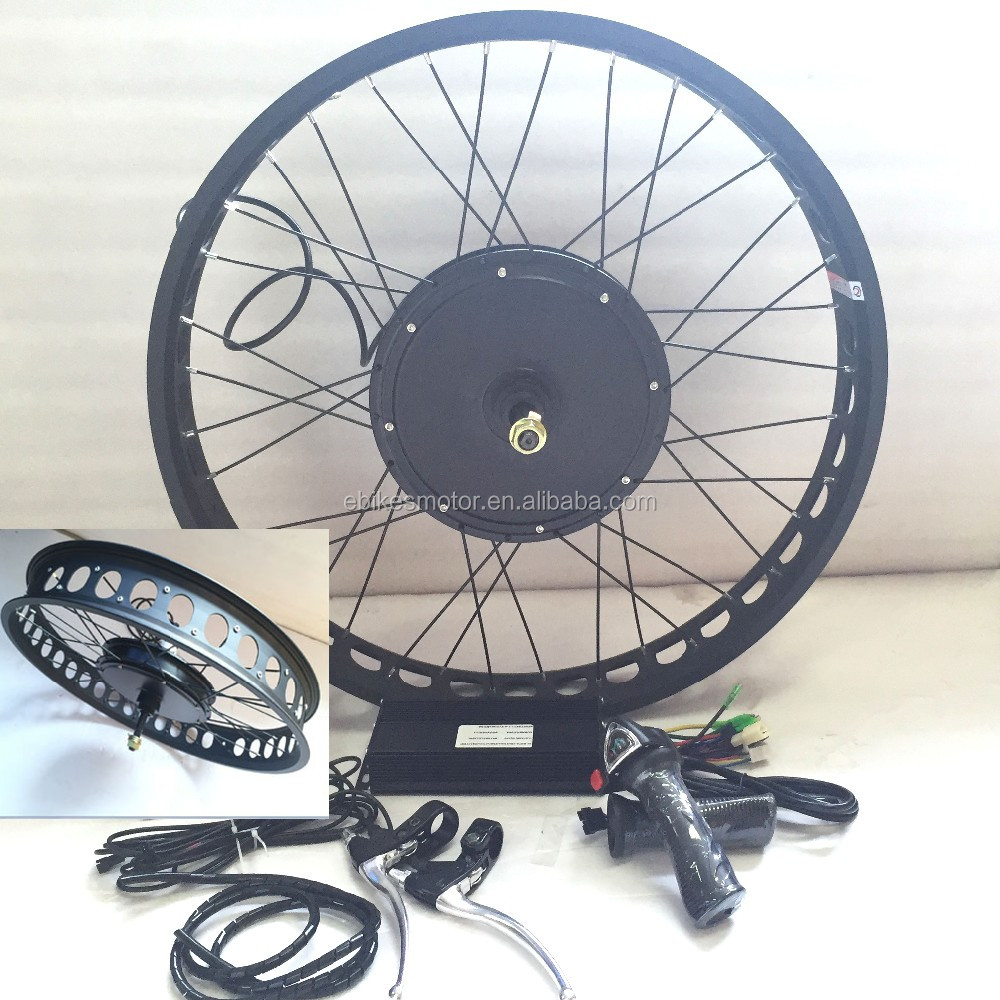 Version 3 1500W electric bicycle conversion kit China