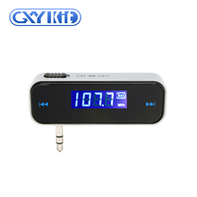 GXYKIT Unique design wireless powerful fm transmitter car mp3 player with touch key design