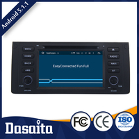 Microphone control panel car dvd gps android for bmw x5 e53