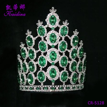 WQ Fashion cheap tall pageant rhinestone headband tiara for sale wedding jewelry crown