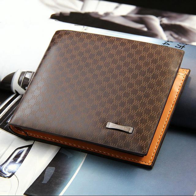 Aliexpress hot sell men wallet brand name wallet for man.