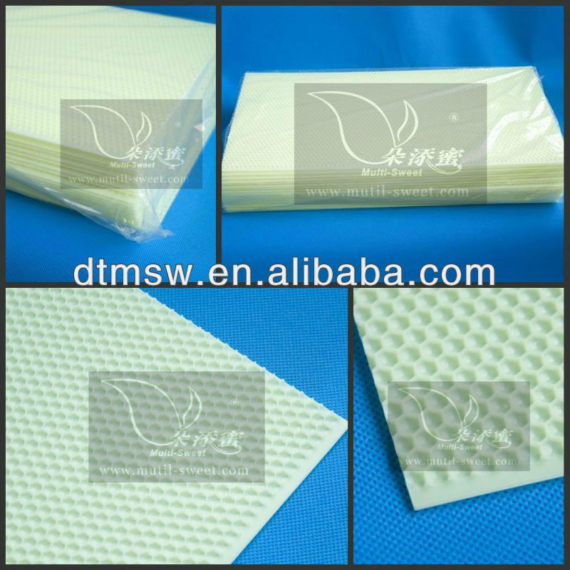 hot sell bee plastic foundation sheet